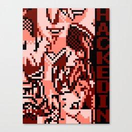 HACKEDIN Canvas Print