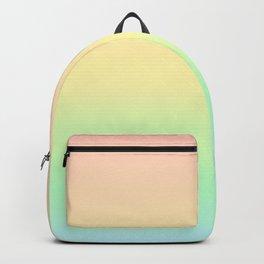 Pastel Rainbow Gradient Pattern Backpack