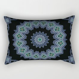 Embroidered beads pattern 2 Rectangular Pillow