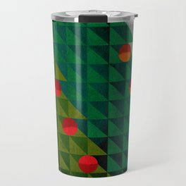 082 - Christmas tree holiday pattern I Travel Mug