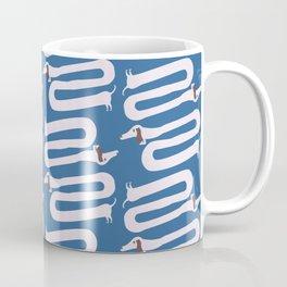 Long wiener dog with floppy ears   Q9Q Pattern Coffee Mug