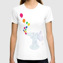 Balloon Cannon T-shirt