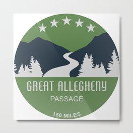 Great Allegheny Passage Metal Print