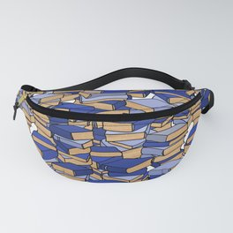 Book Collection in Blue Fanny Pack