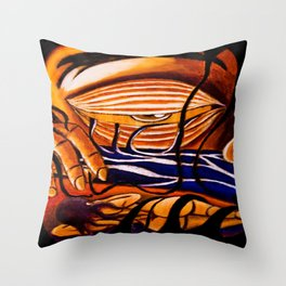 Dream Eater Throw Pillow