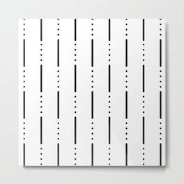 Morse Code #159 Metal Print