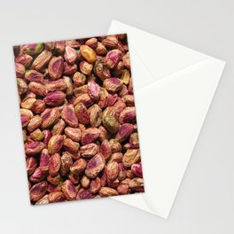 pistachio texture Stationery Cards