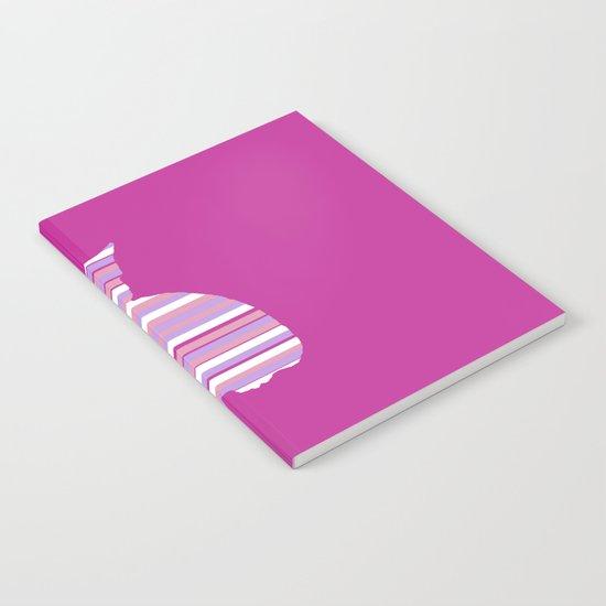 Kitten Stripes Notebook