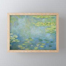 Water lilies by Claude Monet, 1906 Framed Mini Art Print
