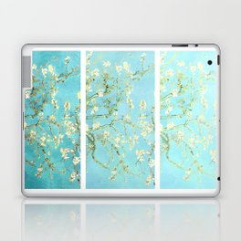 Vincent Van Gogh Almond Blossoms  Panel arT Aqua Seafoam Laptop & iPad Skin