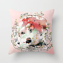planet no.9 Throw Pillow