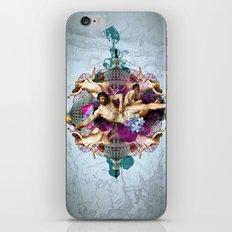 Kaleidoscope Man iPhone & iPod Skin