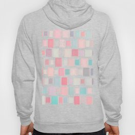 Abstract Pink Pattern Frames Hoody