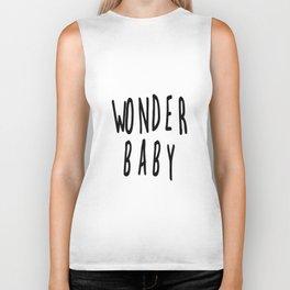 Wonderbaby Black and White Biker Tank