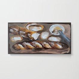 Baguette, french bread, du pain, food Metal Print