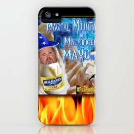 Guy Fieri's a Mayo Wizard! iPhone Case