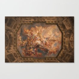 The Belvedere ceiling Canvas Print
