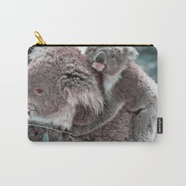 Koala, Mummy and Baby Carry-All Pouch
