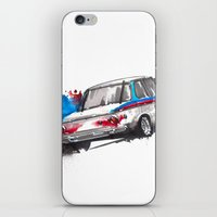 bmw iPhone & iPod Skins featuring BMW 2002 by Claeys Jelle Automotive Artwork