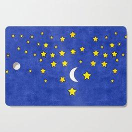 Night Stars Cutting Board