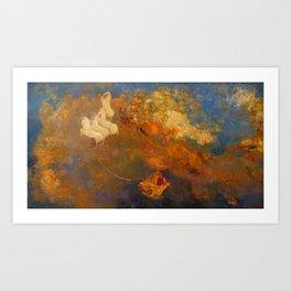 """Odilon Redon """"Apollo's Chariot"""" Art Print"""