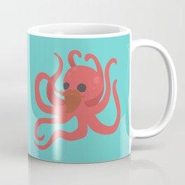 Octobeard Aqua Coffee Mug
