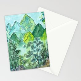 Emerald Woods Stationery Cards