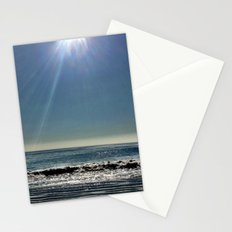 Sun over the waves. Stationery Cards