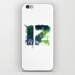 12th man iPhone Skin