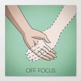 Off Focus Canvas Print