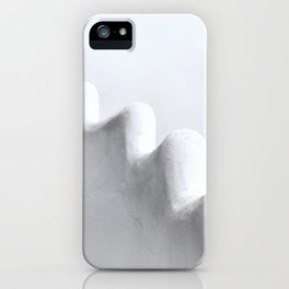 White and Minimal iPhone Case