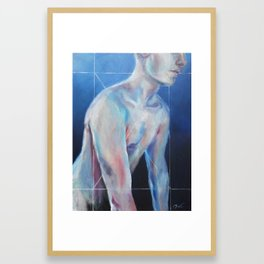 Cage Framed Art Print