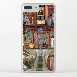 The Museum Shelf Clear iPhone Case