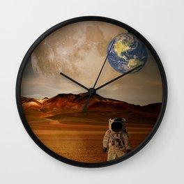 Mars Concept Wall Clock