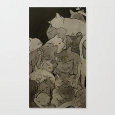 Cats & More Cats Canvas Print