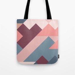 Geometric Mountains 02 Tote Bag