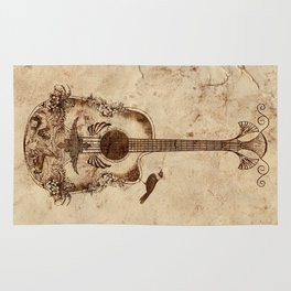 The Guitar's Song Rug