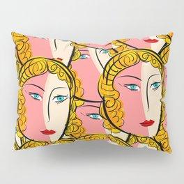 Comics Pop Girl Pattern Pillow Sham
