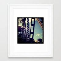 portlandia Framed Art Prints featuring portlandia 2.0 by goldcadillac