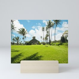 Lanakila 'ihi'ihi O Iehowa O Na Kaua Church Keanae Maui Hawaii Mini Art Print
