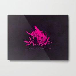 122 Eva Pink Metal Print
