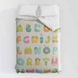alphabet Comforters