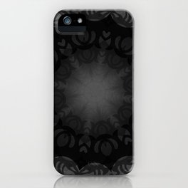Dark Mandala #1 iPhone Case