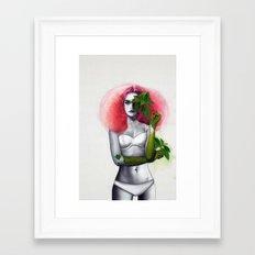 Garden Girls 3 - Mint Framed Art Print