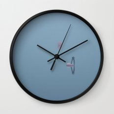 Please let us hold on to each other Wall Clock
