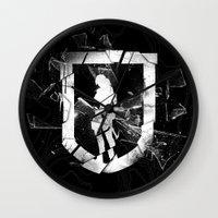 tomb raider Wall Clocks featuring Tomb Raider II. by 187designz