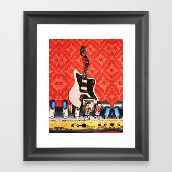 Bent Jag Framed Art Print