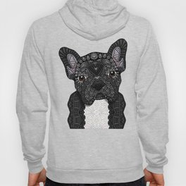 Black Frenchie 001 Hoody