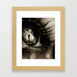 When The Rain Comes Framed Art Print