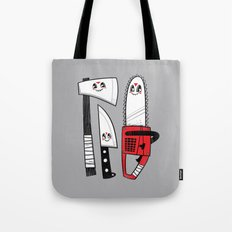 Happy Slasher Pals Tote Bag